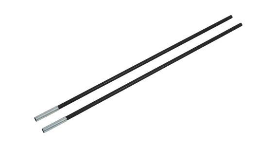 CAMPZ Fiberglass Rod with Sleeve 11mm/0,65m 2-pack